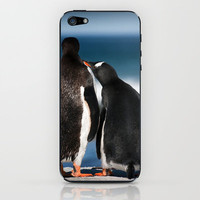 A touching moment iPhone & iPod Skin by Paul J Davis Photography | Society6