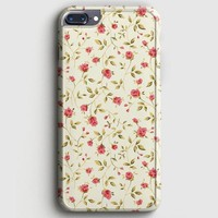 Vintage Floral iPhone 8 Plus Case