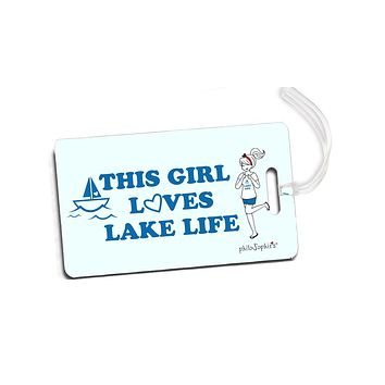 This Girl Loves Lake Life - philoSophie's Lake Life Luggage Tags