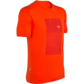 Icebreaker Tech Lite Mt. Blanc T-Shirt - Short-Sleeve - Men's