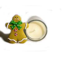 Christmas Candle - Gingerbread Soy - Sweet and warm, with a touch of spice