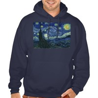 Starry Night Vincent van Gogh Fine Art Painting Hooded Sweatshirts
