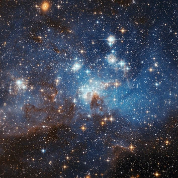 Winter Sale LH 95 stellar nursery in the Large Magellanic Cloud- Space, Starts, Galaxies   Photo Print