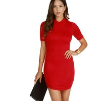 Red After-party Mini Dress
