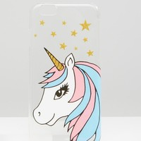 ASOS Unicorn iPhone 6 And 6s Case at asos.com