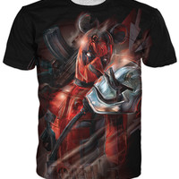 Force Awakens Deadpool T-Shirt