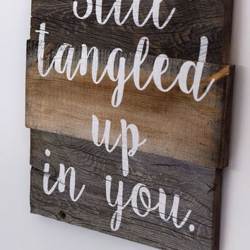 Reclaimed Barn Wood Sign  Custom Quote Sign  Rustic Wood Sign  Personalized Barnwood Sign