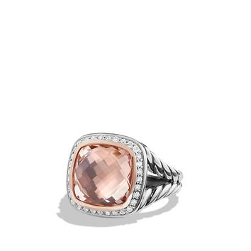 Albion Ring with Diamonds and 18K Rose Gold