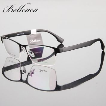 2017 Optical Spectacle Frame Eyeglasses Men Nerd Computer Glasses Myopia Frame For Male Transparent Clear Lens Armacao de BC106