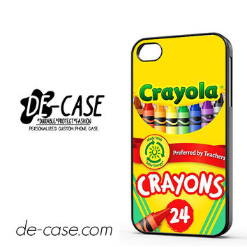 Crayola Crayons Colorful DEAL-2841 Apple Phonecase Cover For Iphone 4 / Iphone 4S