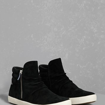 Keds Ruched High-Top Sneakers