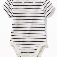 Patterned Jersey Bodysuit for Baby|old-navy