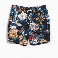 UO Patterned Swim Short | Urban Outfitters