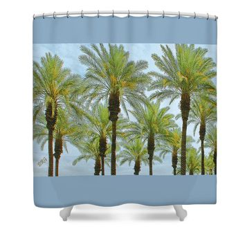 Palms Shower Curtain for Sale by Ben and Raisa Gertsberg