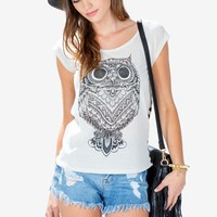Stare At Me Owl Tee