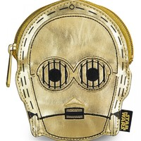 """C3PO Metallic"" Coin Bag by Loungefly (Gold)"
