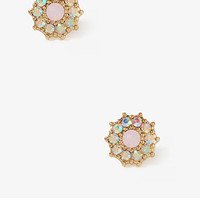 Rhinestone Center Studs