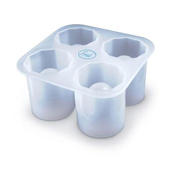 FRED & FRIENDS COOL SHOOTERS SHOT GLASS ICE TRAY