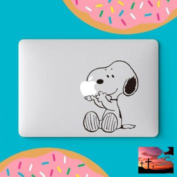 Snoopy MacBook Decal