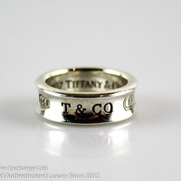 Tiffany 1837 Sterling Silver Band Ring