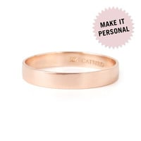 Tomboy First Knuckle Ring, Rose Gold - Personalized Jewelry - Catbird