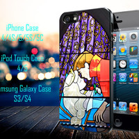 Disney Sleeping Beauty Kissing Samsung Galaxy S3/ S4 case, iPhone 4/4S / 5/ 5s/ 5c case, iPod Touch 4 / 5 case