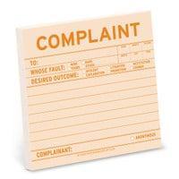 Knock Knock Complaint Sticky Notes - Official Shop