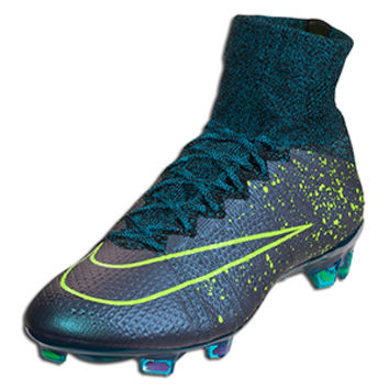 Nike Mercurial Superfly FG - Squadron Blue/Volt-Black-Black - Electro Flare || SOCCER.COM