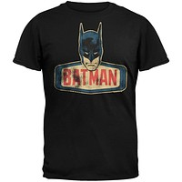 Batman - Head Logo Soft T-Shirt
