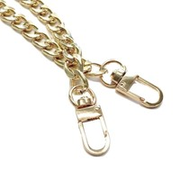 Gold Chain Purse Strap (Classy Curb Diamond Cut)