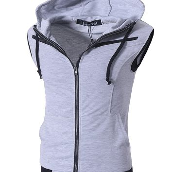 Best Men's Zip Vest Products on Wanelo