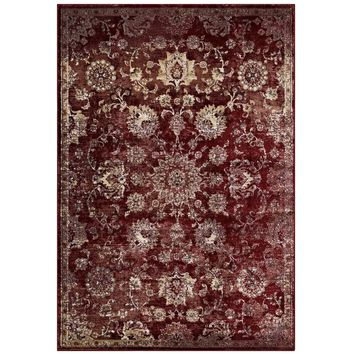 Cynara Distressed Floral Persian