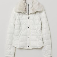 Padded Jacket - Light beige - | H&M US