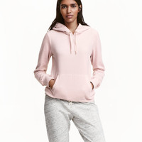 H&M Velour Hooded Top $24.99