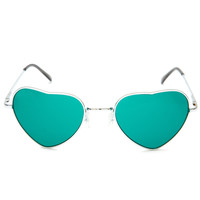 Lennon Love Sunglasses - Green