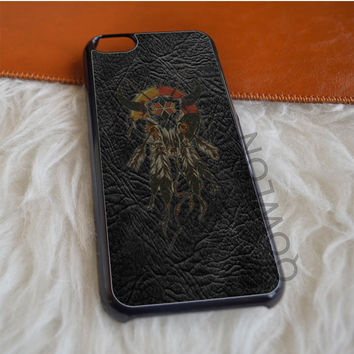 Leather Dream Catcher iPhone 5C Case