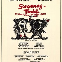 Sweeney Todd 27x40 Movie Poster (1979)