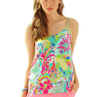 Zoe V-Neck Camisole - Printed - Lilly Pulitzer