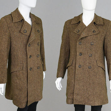 Best Brown Tweed Coat Products on Wanelo