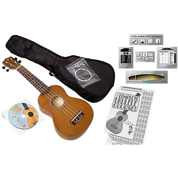 Emedia Ukulele Beginner Pack Natural | Guitar Center
