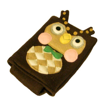Blathers animal crossing nintendo ds case pouch fleece camera carrying case 3ds / dsi / ds lite / psp holder
