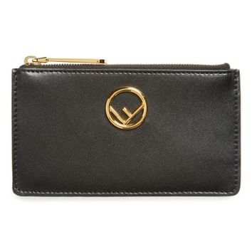 Fendi Leather Card Case | Nordstrom