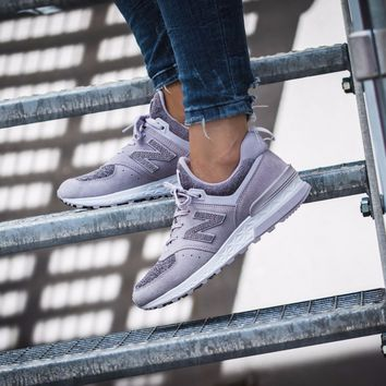 kuyou New Balance 574 Sport Suede Pack 'Thistle with Light Cyclone'