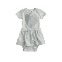 crewcuts Baby Skirted One-Piece In Heart