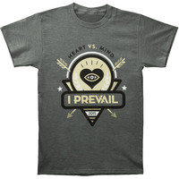 I Prevail Men's  Heart Vs. Mind T-shirt Grey