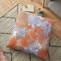 'Round And Round' Floor Pillow by AllyNCoxon