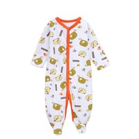 Cheelibaby Baby Boy Clothes Infant Cartoon Baby Rompers Winter Thick Climbing Clothes Newborn 0-12M Baby Clothes Cotton Pajama