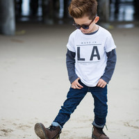 Made in LA Toddler Tee