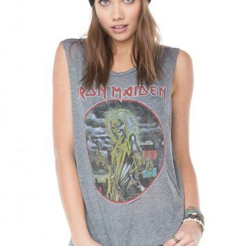 Brandy ♥ Melville |  Iron Maiden Tank - Graphic Tops - Clothing