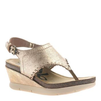 New OTBT Women's Sandals Meditate in Gold